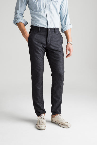 Independent Slim Flannel Pant - Charcoal