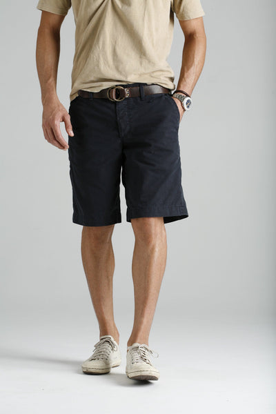 Hampton Twill Short - Navy