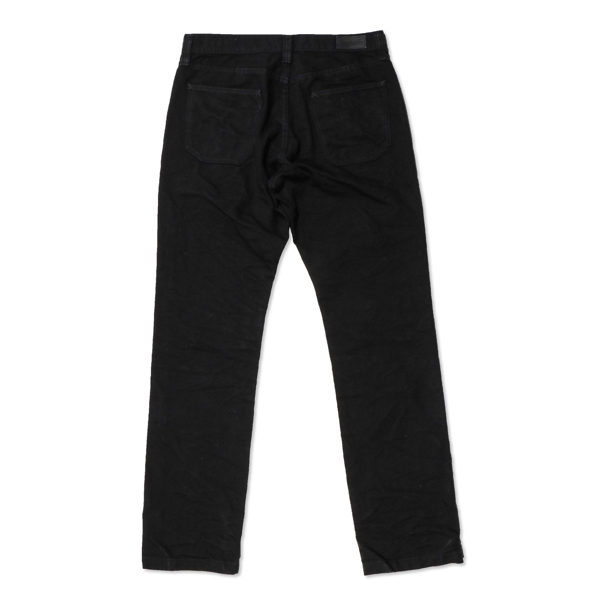Foundation Canvas Pant - Black