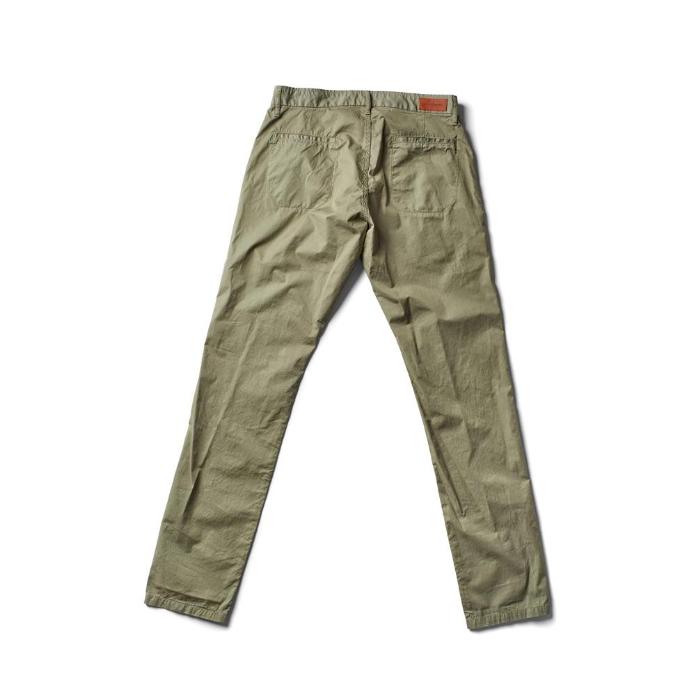 Independent Slim Feather Pant - Army - grown&sewn