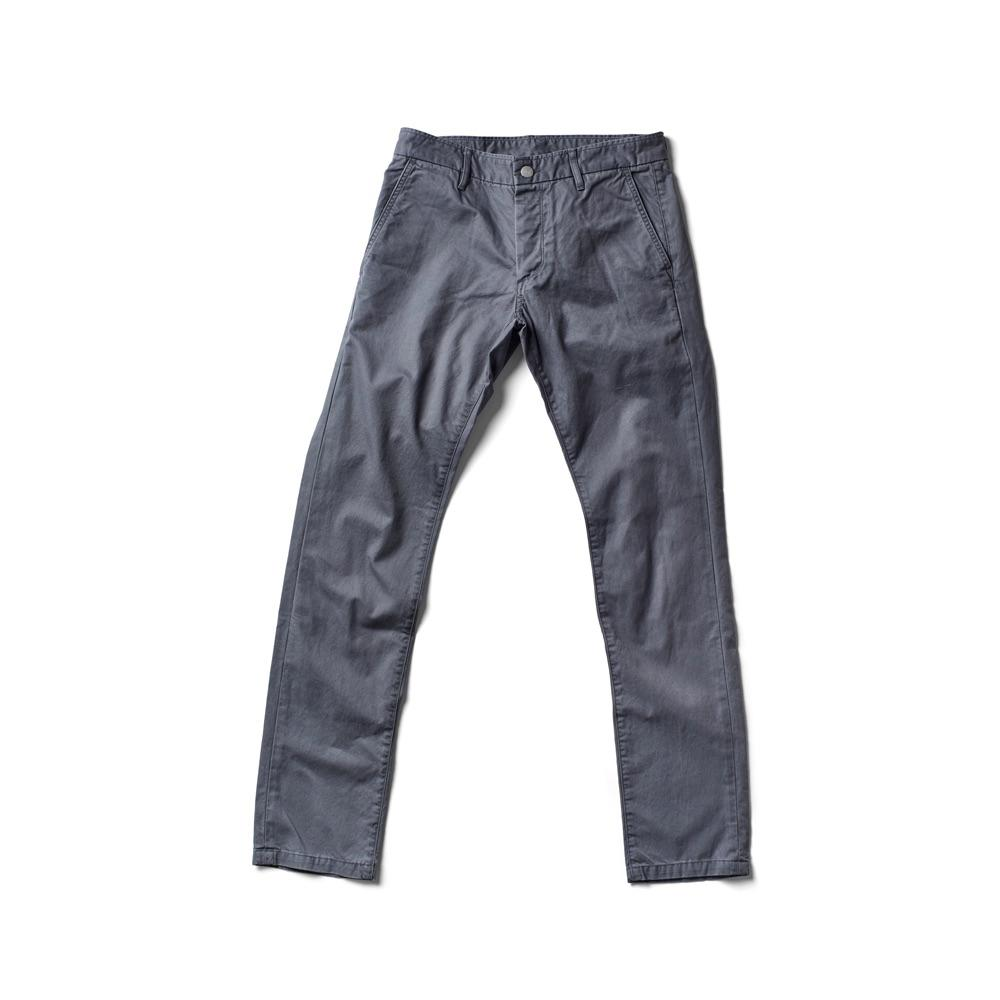 Independent Slim Pant / Ultimate Twill - Charcoal - grown&sewn