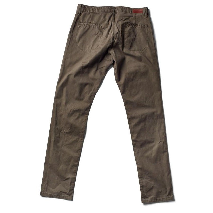 Independent Slim Pant / Ultimate Twill - Loden - grown&sewn
