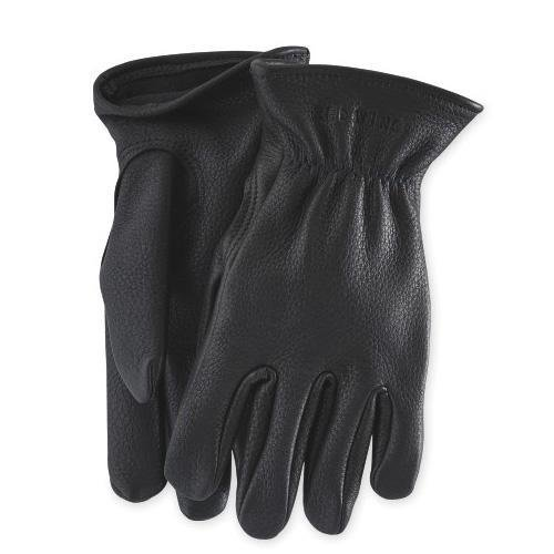Leather Lined Glove 95232 Black - grown&sewn
