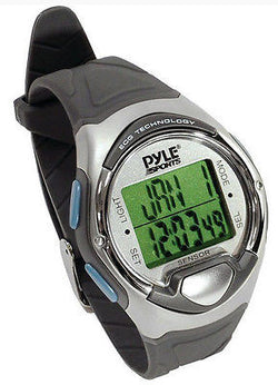 Pyle Heart Rate Sports Watch Alarm Calendar Chronograph Pacer