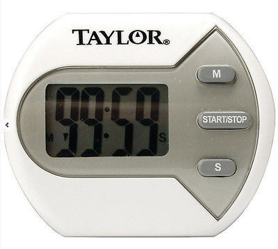 "Taylor Classic Big Digit Timer for Kitchen 0.7"" Display Clip Magnet or Stand Up"