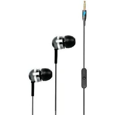Lethal Metal High Performance Earsubs Earphones with Microphone 5567 New in Pkg