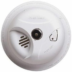 First Alert Battery-Operated Smoke Fire Alarm + Light White