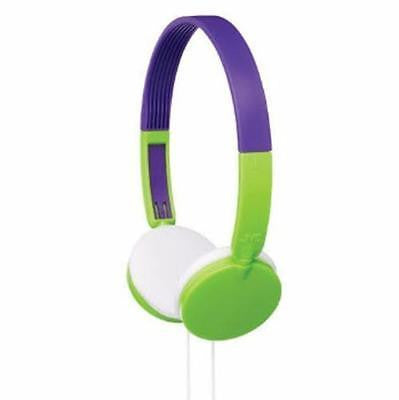 JVC Kids 3+ Tiny Phones Headphones Green Volume Limiting Hearing Protection