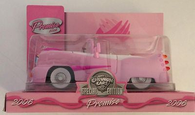 Chevron 2006 Promise Breast Cancer Awareness Car Collectible Mint in Box