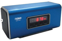 Naxa Blue Portable Rechargeable Speaker - PC iPod iPhone Rectangle