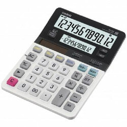 Casio 12 Digit Angled Dual Display Desktop Calculator Cost Sell Margin Tax Exch