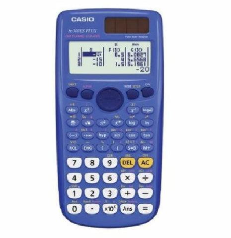 Casio Blue or Pink Scientific Calculator with Natural Textbook Display SAT PSAT AP ACT