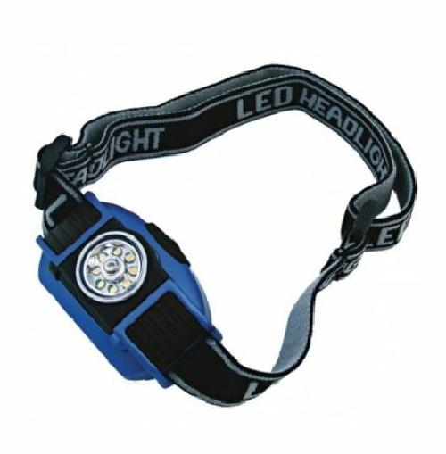 Dorcy 3 Mode LED Headlamp Adjustable Band 335 Lumen Batteries Included