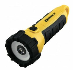 Dorcy 200 Lumen Waterproof Floating High Visibility Yellow Outdoor Flashlight