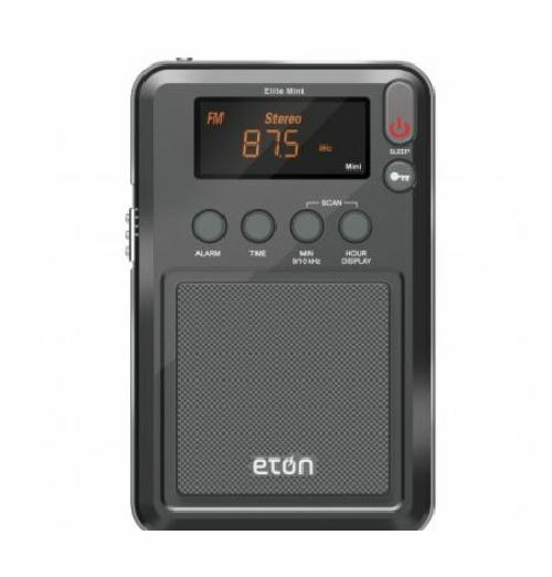 Eton Mini Elite Digital AM FM SW Shortwave Radio with Travel Pouch