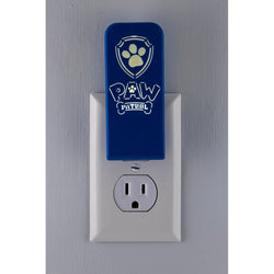 Nickelodeon Paw Patrol LED Silhouette Night Light Always On Cool to the Touch