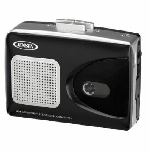 Jensen Stereo Cassette Player with USB Encoding to MP3 for PC Computer