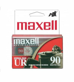 Maxell 2 PACK Normal Bias Type I EQ Blank Cassette Tape UR90 Recording