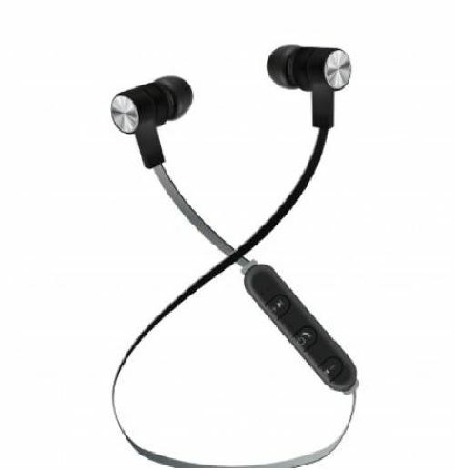 Maxell Heavy Enhanced Bass Black Wireless Bluetooth Earbuds with Microphone