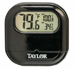 Taylor Indoor or Outdoor Window F or C Thermometer with Reversible Suction Cup