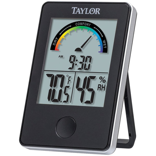 Taylor Comfort Monitor Indoor Temperature Thermometer Humidity Hygrometer Index