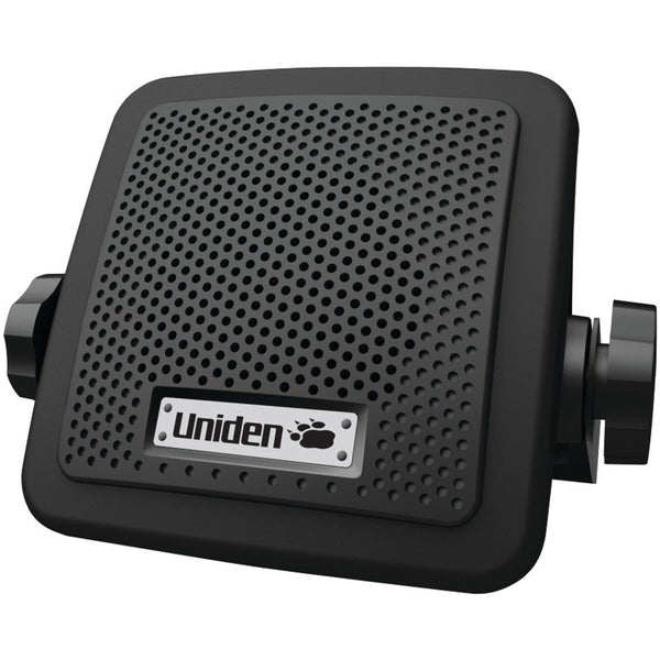 Uniden Accessory Speaker for Scanner or CB Radio New Black