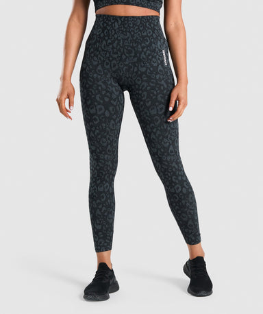 Shop Gymshark Adapt Animal Seamless Leggings - Black From GS | AROS