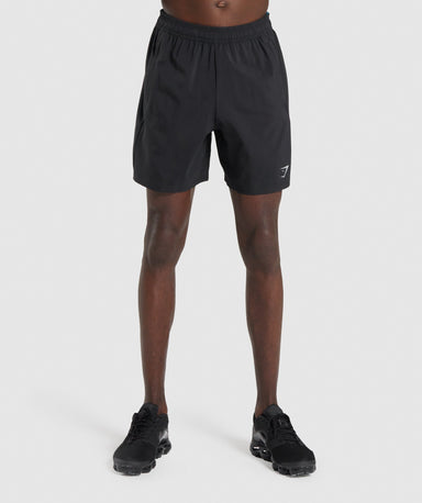 Shop Gymshark Aspect Shorts - Black From GS | AROS