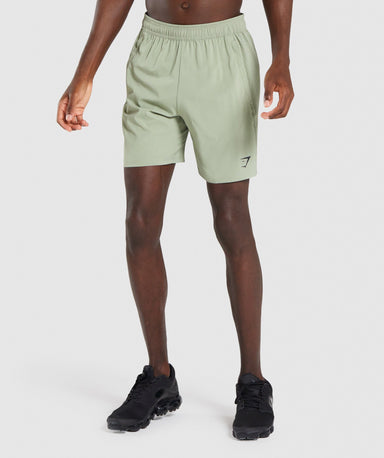 Shop Gymshark Aspect Shorts - Light Green From GS | AROS