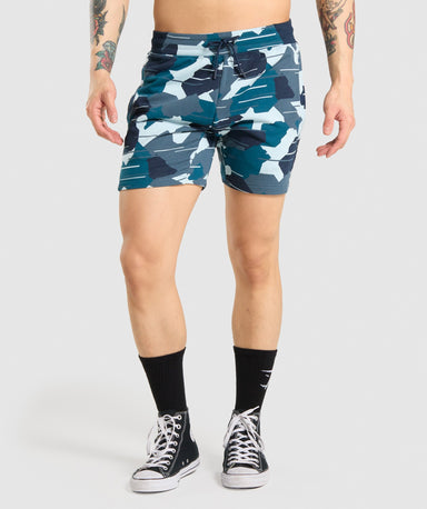 Shop Gymshark Bold Shorts - Camo From GS | AROS