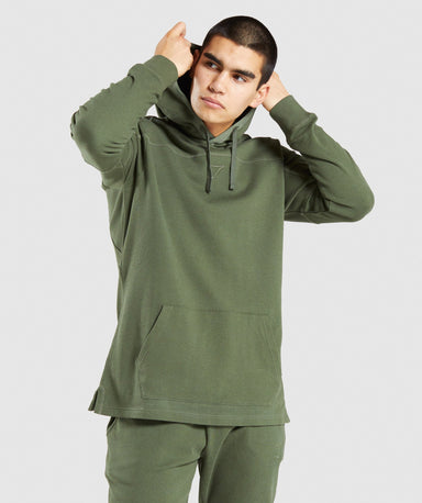 Shop Gymshark Compound Hoodie - Green From GS | AROS