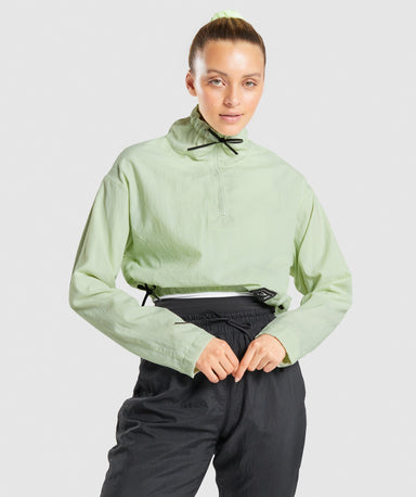 Shop Gymshark CTY Pullover - Light Green From GS | AROS