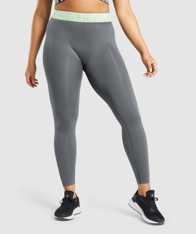 Shop Gymshark Fit Seamless Leggings - Charcoal From GS | AROS