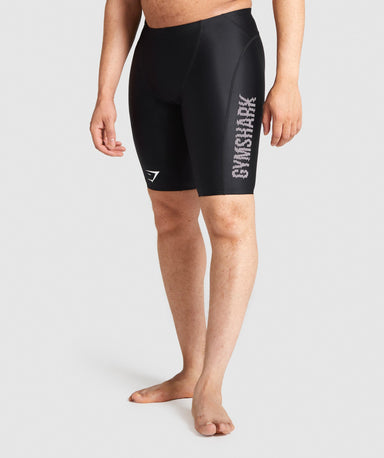Shop Gymshark Jammer Swim Shorts - Black From GS | AROS