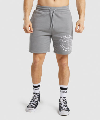 Shop Gymshark Legacy Shorts - Smokey Grey From GS | AROS