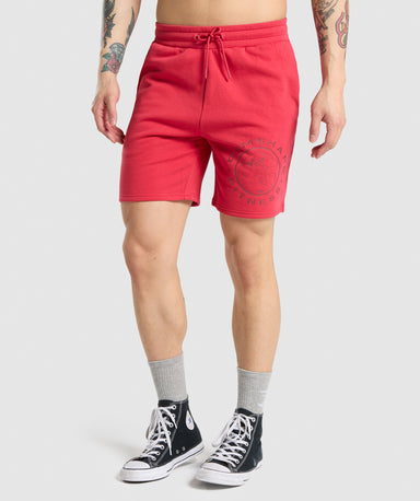Shop Gymshark Legacy Shorts - Red From GS | AROS