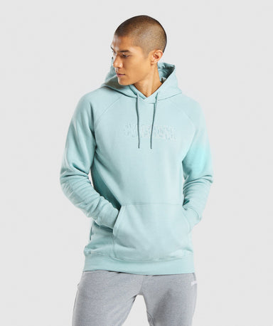 Shop Gymshark Outline Hoodie - Light Green From GS | AROS