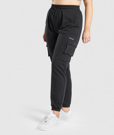 Shop Gymshark Release Joggers - Black From GS | AROS