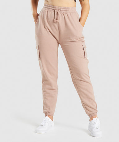Shop Gymshark Release Joggers - Taupe From GS | AROS
