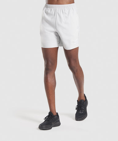 Shop Gymshark Sport Shorts - Light Grey From GS | AROS
