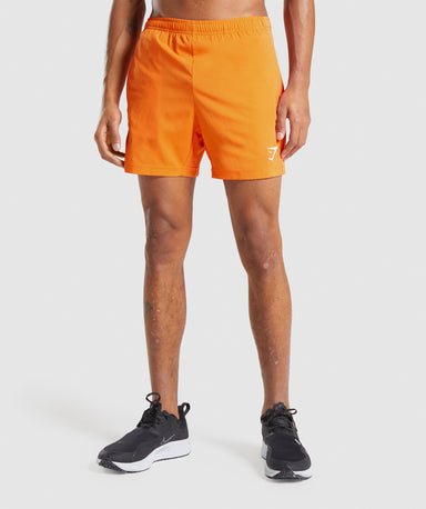 Shop Gymshark Sport Shorts - Orange From GS | AROS