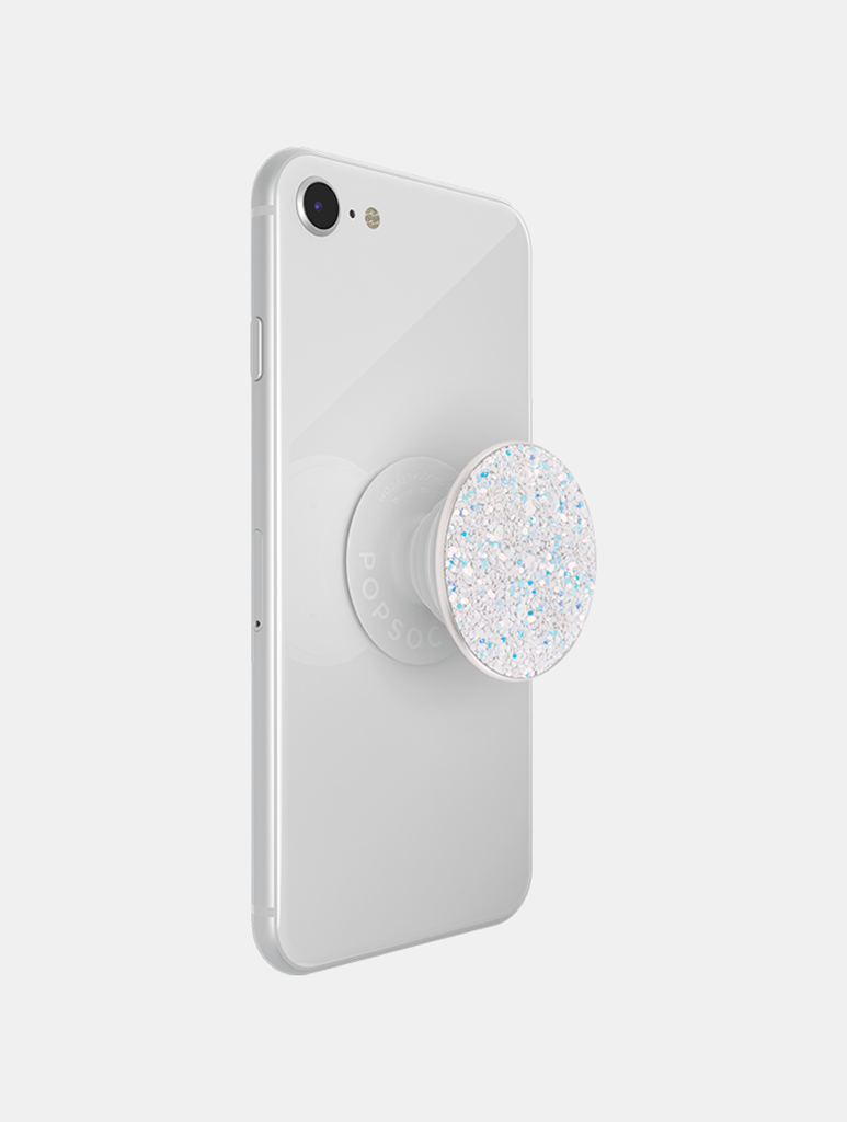 Shop PopSockets PopGrip Swappable Sparkle Snow White From SDL | AROS