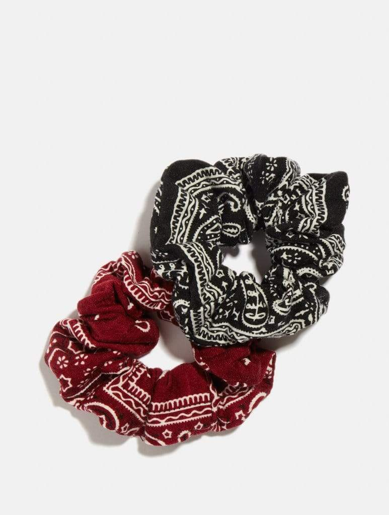 Shop Bandana Print Scrunchie Two Pack From SDL | AROS