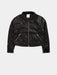 Shop Celestial Studded Faux Leather Jacket From SDL | AROS