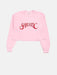 Shop Sarcastic Cropped Sweatshirt From SDL | AROS