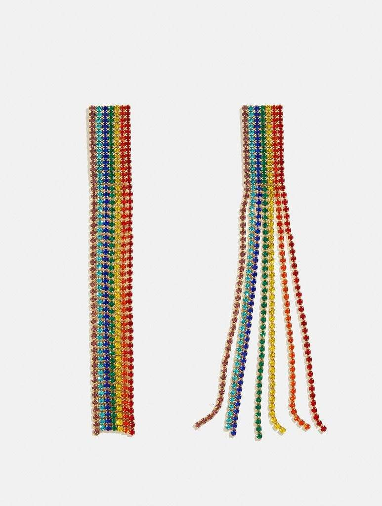 Shop Rainbow Bling Earrings From SDL | AROS