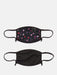 Shop 2 Pack Face Covering in Floral Print & Black From SDL | AROS
