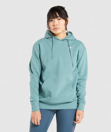 Shop Gymshark Training Oversized Hoodie - Light Green From GS | AROS