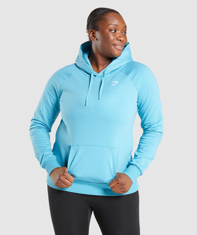 Shop Gymshark Training Hoodie - Light Blue From GS | AROS
