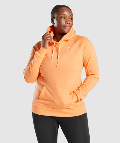 Shop Gymshark Training Hoodie - Orange From GS | AROS